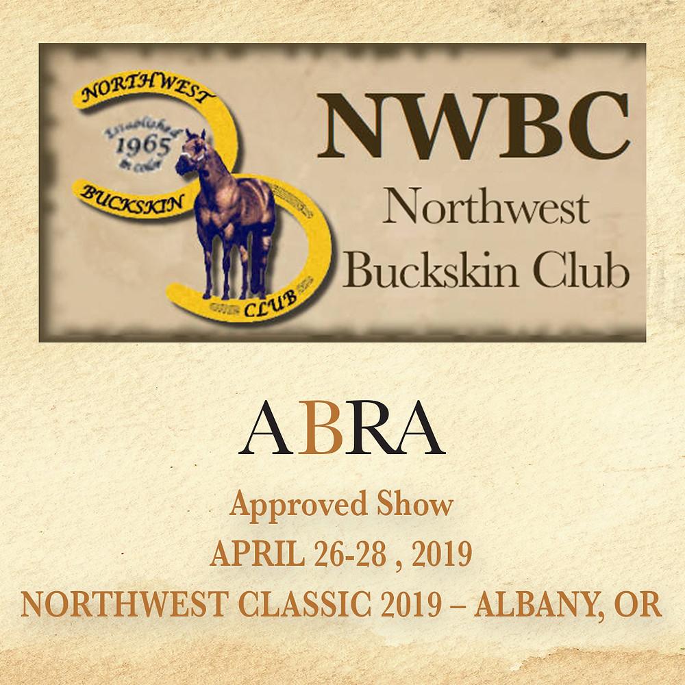 NW Buckskin Club logo