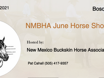 June 6 Approved Horse Show in Bosque Farms, NM