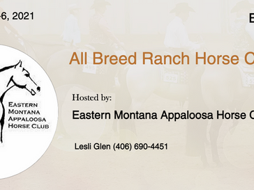 June 5-6 ABRA Approved Horse Show in Billings, MT
