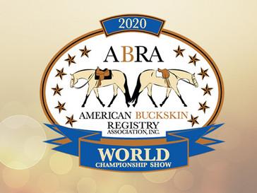 2020 World Show NSBA Class Results