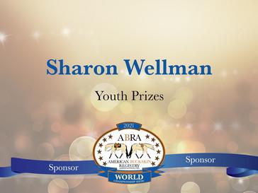 Thank You World Show Sponsor - Sharon Wellmann!