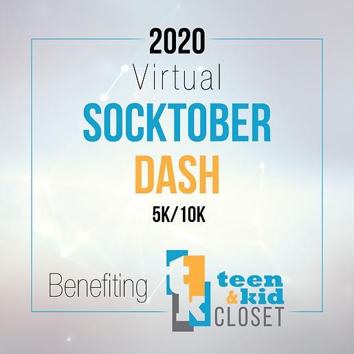 2020 Virtual Socktober Dash