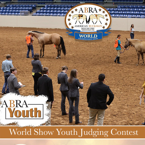 ABRA Youth World Show Judging Contest