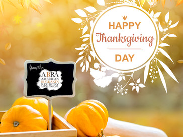 🦃🍽️Happy Thanskgiving from the ABRA!🦃🍽️