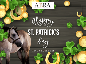 🍀Have a Lucky Day from the ABRA! 🍀