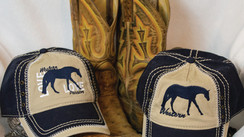 Beautiful baseball caps make the perfect gift for the equestrian in your life.