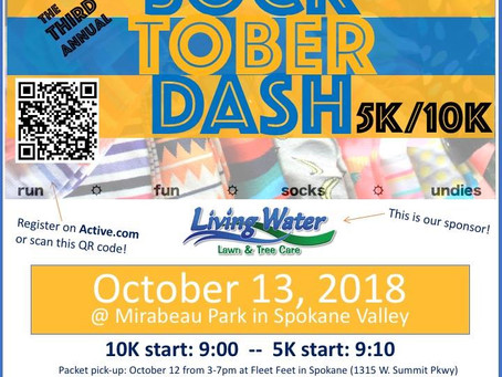 Get Ready for the 3rd Annual Socktoberdash!
