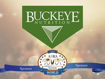 Thank You  World Show Sponsor - Buckeye Nutrition!