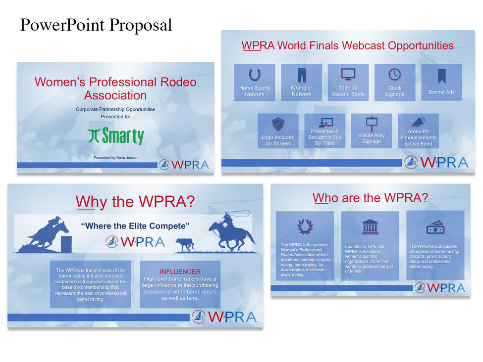 PowerPoint Presentation for the Women's Professiona Rodeo Association