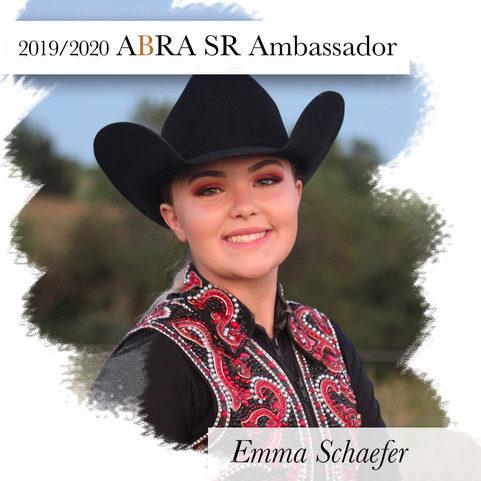 Emma Schafer-2019-2020ABRA SR Ambassador