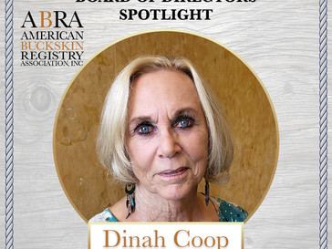 Board of Director Spotlight - Dinah Coop!