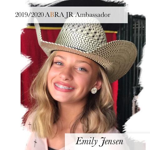Emily Jensen-2019-2020ABRA JR Ambassador
