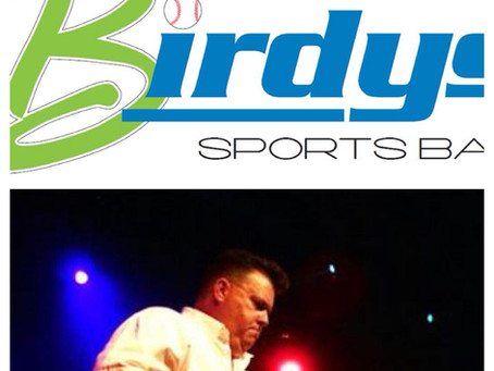 Join us May 19 at  Birdy's Sport Bar, featuring Sammy Eubanks