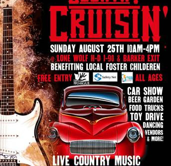 August 25th Fundraising Event - Country Cruisin!