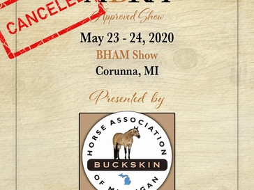 CANCELED - BHAM May Show- Approved ABRA Show May 23!