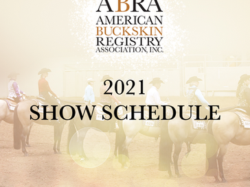 Additonal Shows Added to 2021 Show Schedule