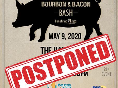 May 9th Bourbon & Bacon Bash-POSTPONED