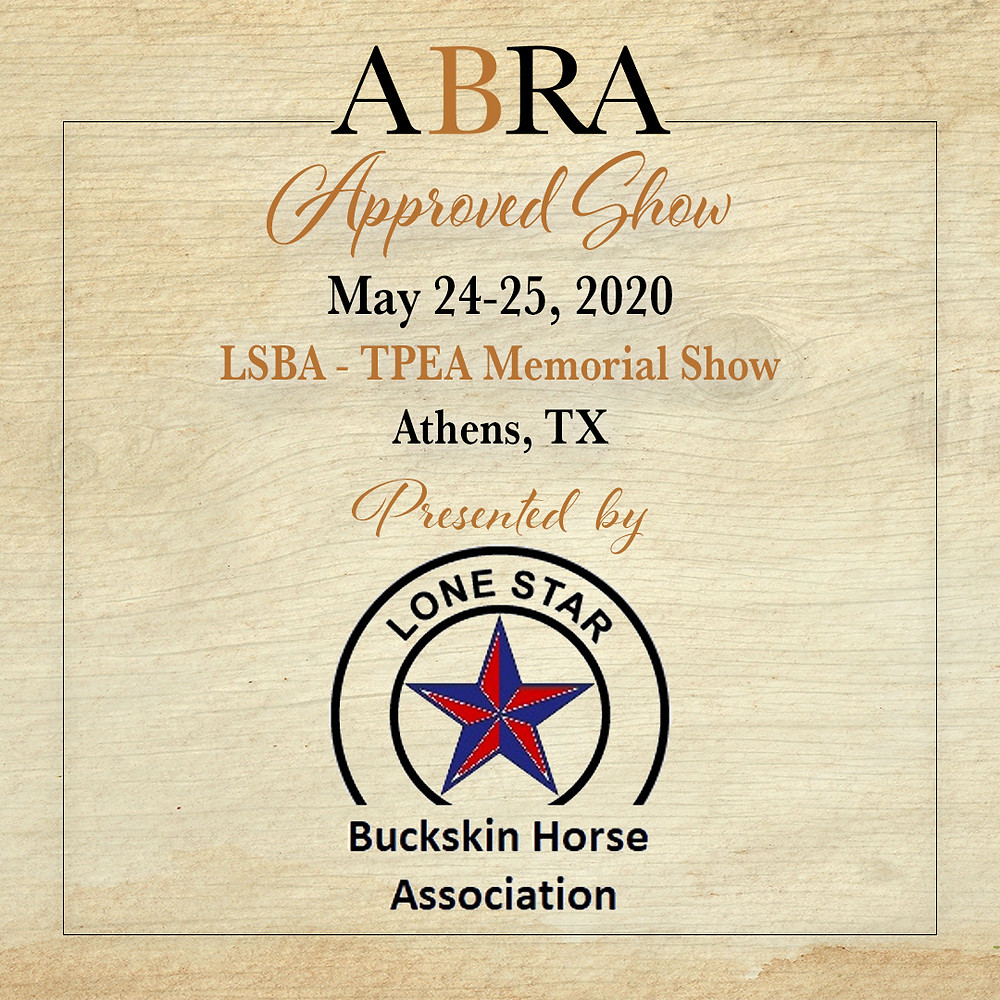 LSBA Approved ABRA Horse Show