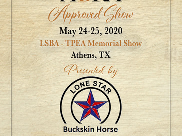 May 24 Approved ABRA Show in Athens, TX