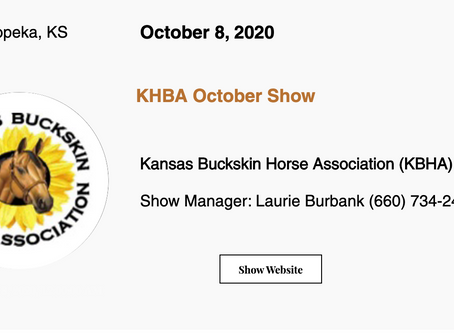 🚩Approved ABRA Show October 8, 2020 in Topeka, KS! 🚩