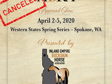 CANCELED-Western States Spring Series - Approved ABRA Show April 2-5!