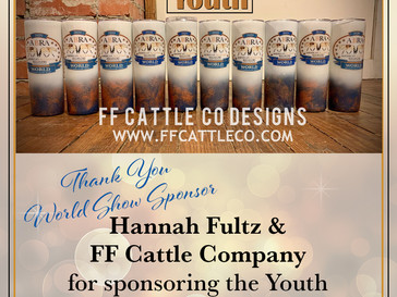 Thank YOU WS Sponsor FF Cattle Co Designs!