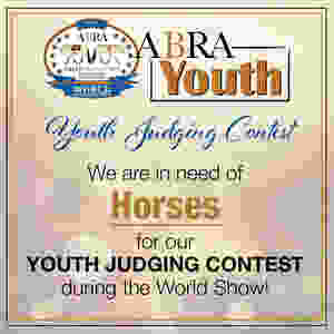 ABRA Youth Judging Contest graphic