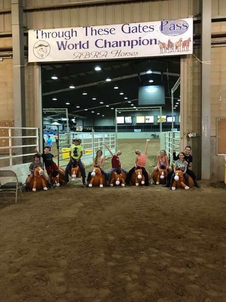 kids on stuff ponies