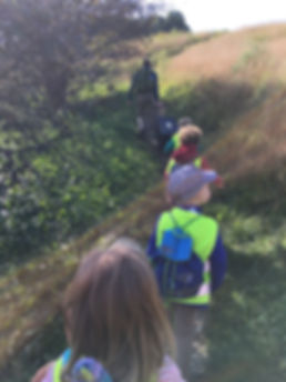 Hiking Peter's Hill BOPN