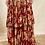 Thumbnail: Red printed Angrakha set