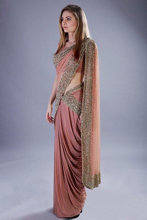 Shimmer Drape Saree
