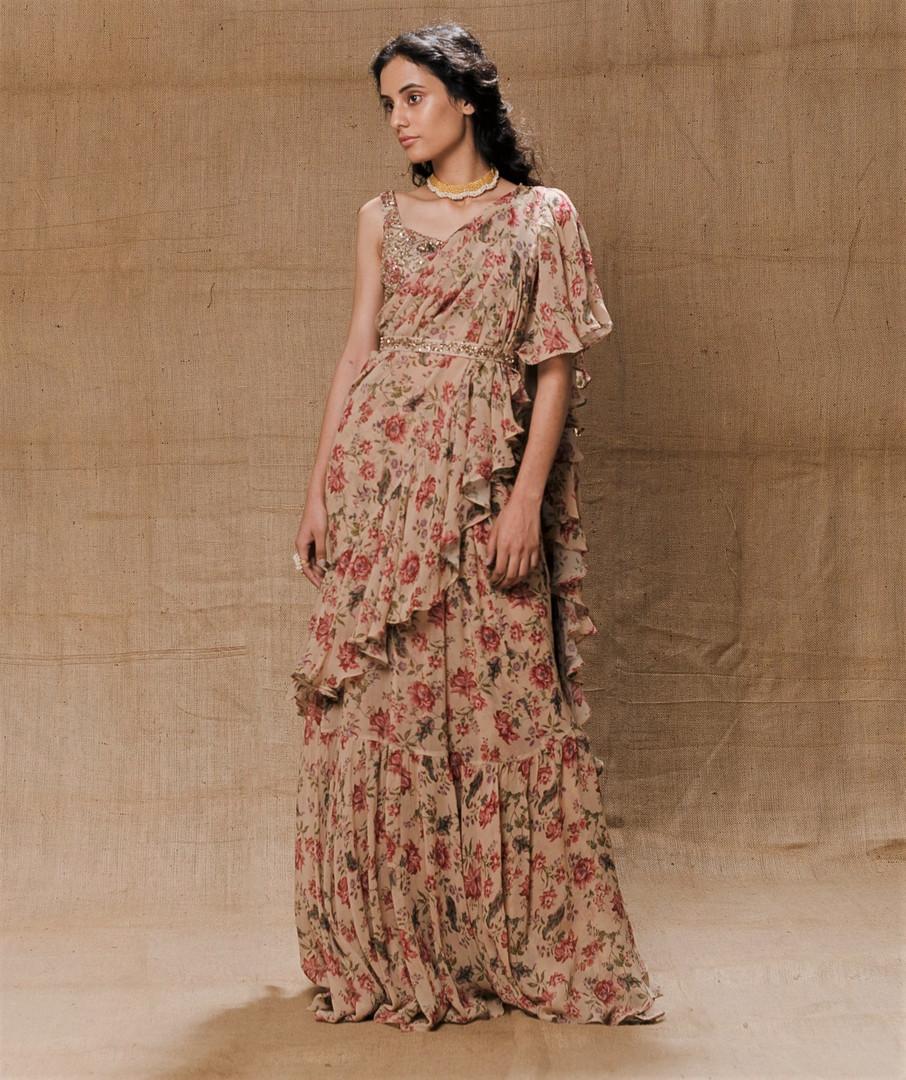 drape saree