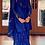 Thumbnail: Royal Blue Kurta With Sharrara