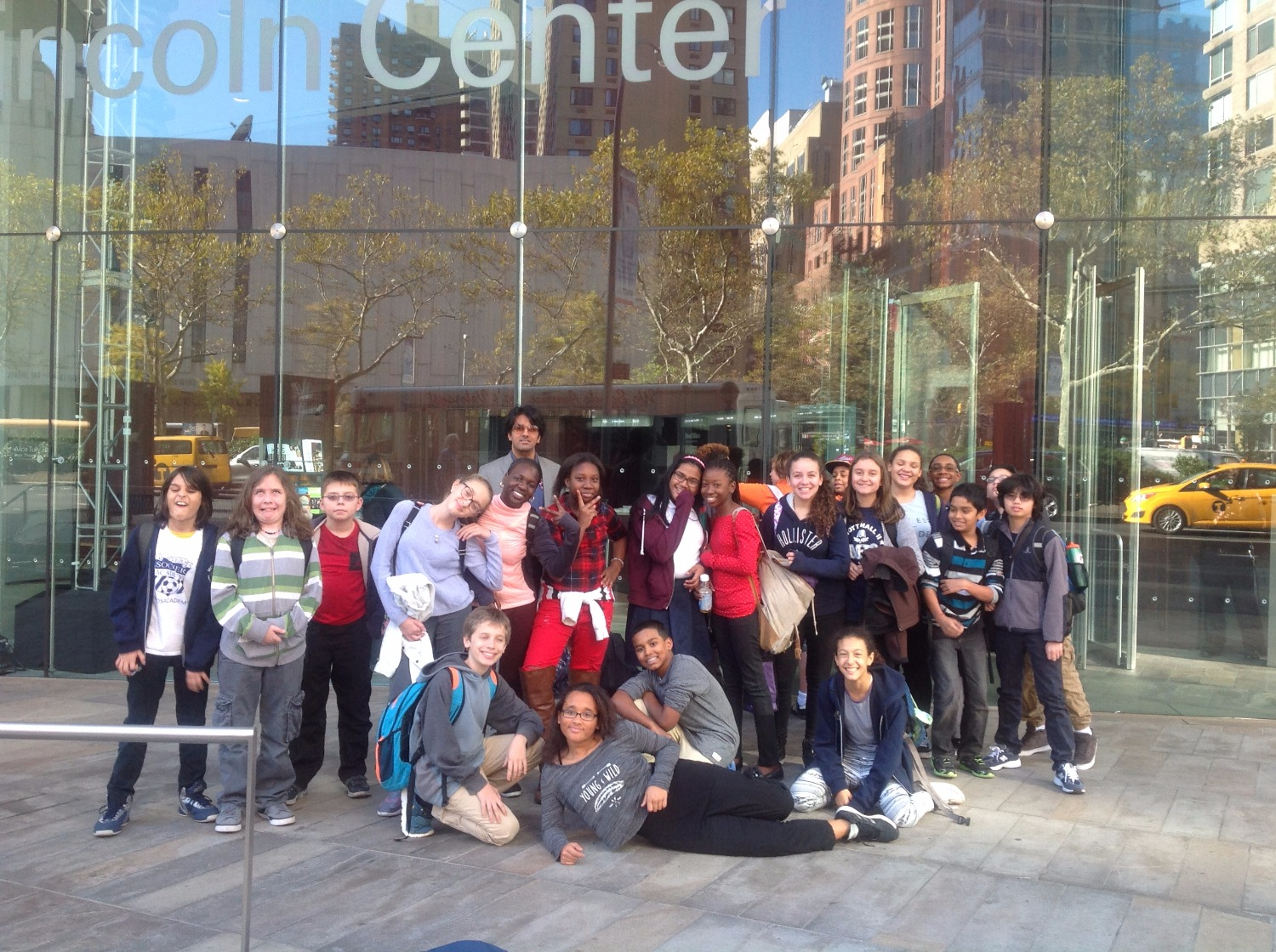 Class trip to Alice Tully Hall