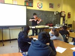 Violinist--Wayne Lee