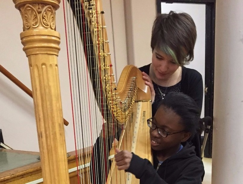 Harpist- Emily Levin