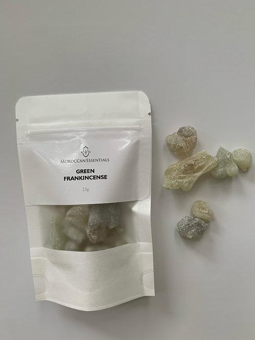Green Frankincense Resin