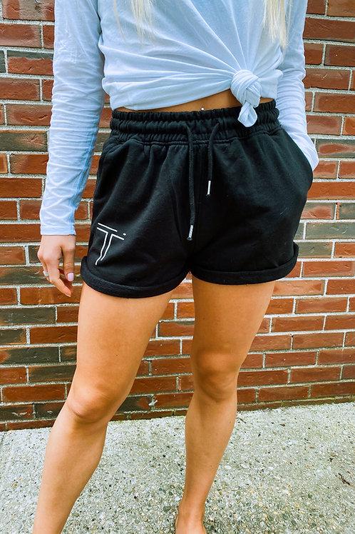 """""""T"""" Sweat Shorts"""