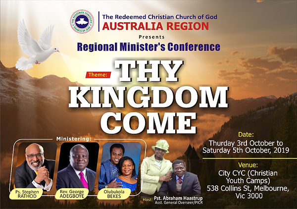ministers conf.