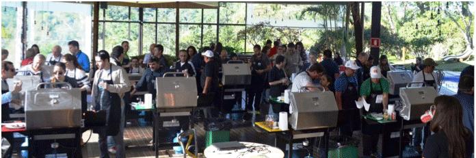 Academia de Churrasco Grill Experience: uma aula de diferentes técnicas de preparo de churrasco!