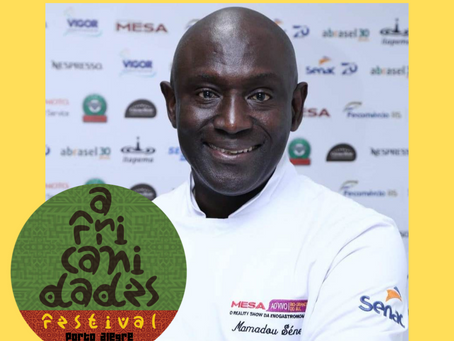 Mamadou Sène no Festival Africanidades