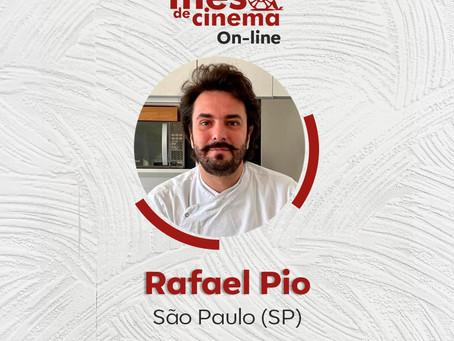 Mesa de Cinema on-line 3: SÃO PAULO - Os Sabores do Palácio  com Rafael Pio