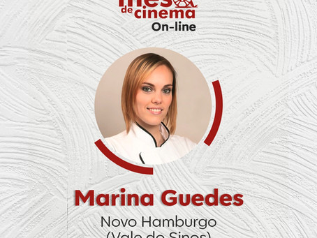 Mesa de Cinema On-Line 3 VALE DOS SINOS Os Sabores do Palácio - Chef Marina Guedes