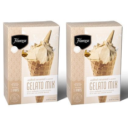 Salted Caramel Italian Gelato Mix (makes approx. 3 Pints)