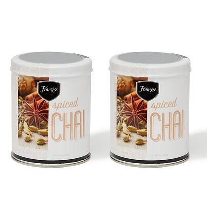 Spiced Chai Latte Mix 2 Tin pack (32oz.)