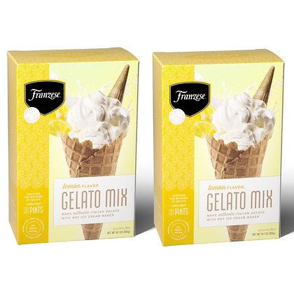 Lemon Italian Gelato Mix (makes approx. 3 Pints)