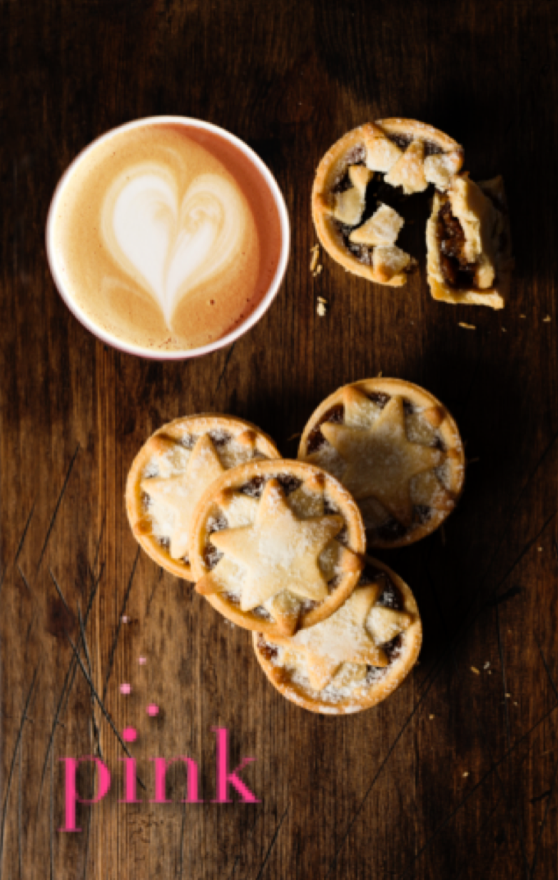 Have a mini mince pie on us with your Liberty Coffee during the festive season
