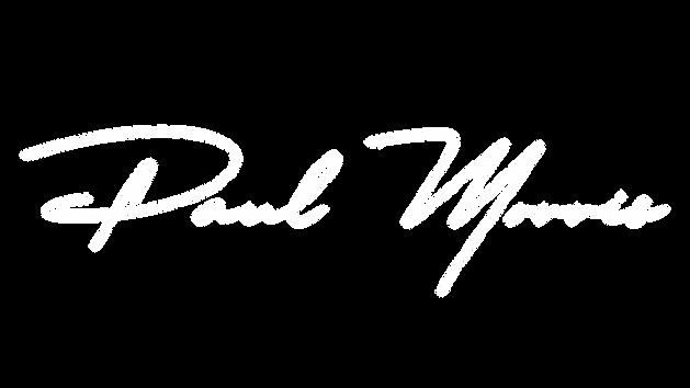 Paul Morris Logo White:No Background.png