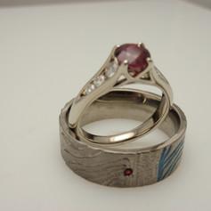 ruby trellis ring