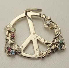 mother's peace pendant